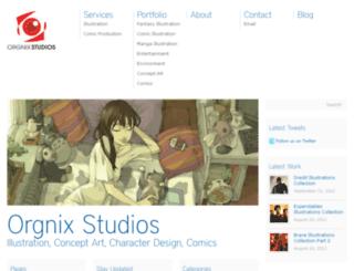 orgnixstudios.com screenshot