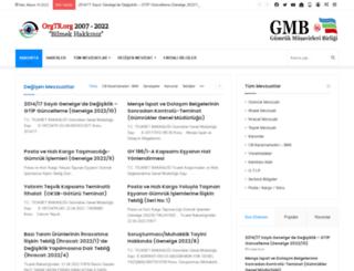 orgtr.org screenshot