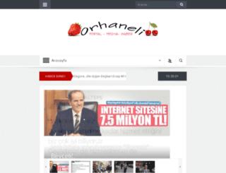 orhaneli.com screenshot