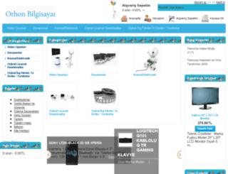 orhonbilgisayarkemer.com screenshot