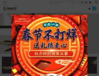 orico.cn screenshot