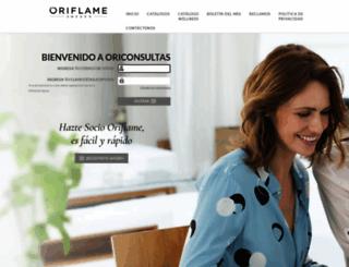oriconsultas.com screenshot