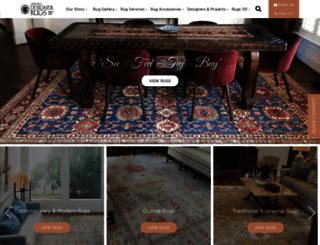 orientaldesignerrugs.com screenshot