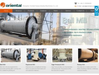 orientalmill.com screenshot
