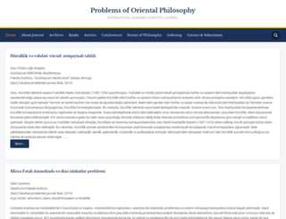 orientalphilosophy.org screenshot