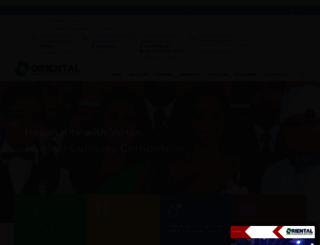 orientalschool.com screenshot