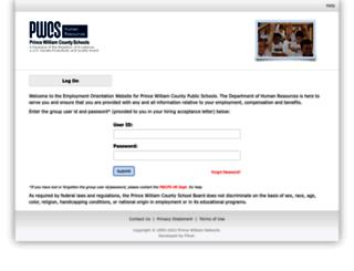 orientation.pwcs.edu screenshot