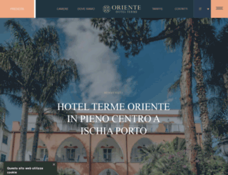 orientehotel.it screenshot