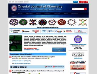 orientjchem.org screenshot