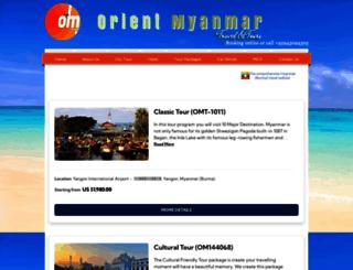 orientmyanmartours.rezgo.com screenshot