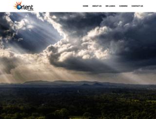 orienttourssrilanka.com screenshot