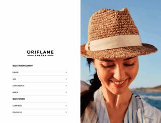 oriflame.com screenshot