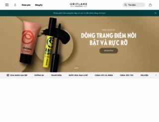 oriflame.com.vn screenshot