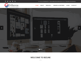 oriflammeitsolutions.com screenshot