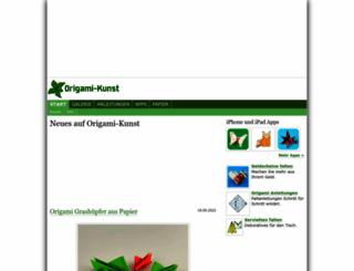 origami-kunst.de screenshot