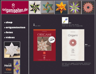 origamiseiten.de screenshot