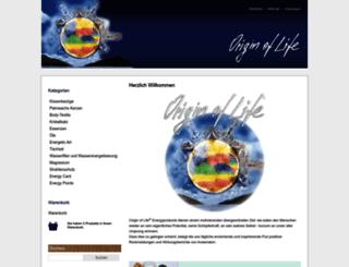 origin-of-life.de screenshot