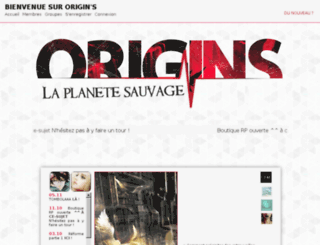 origin-s.creer-forum.com screenshot