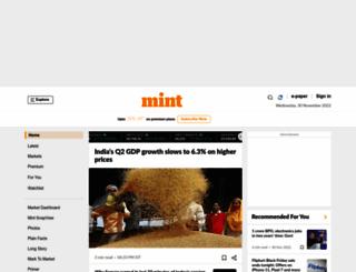 origin-www.livemint.com screenshot