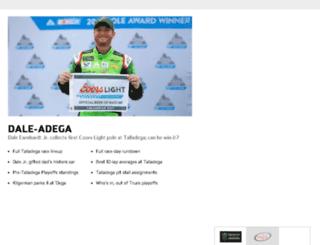 origin.nascar.com screenshot