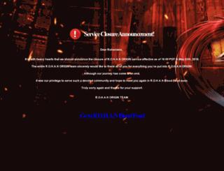 origin.playrohan.com screenshot