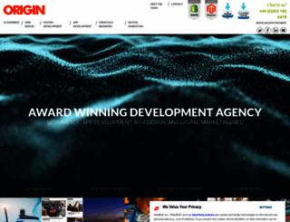 origin.uk.com screenshot