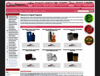 original-fragrance.com screenshot