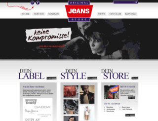 original-jeans-store.de screenshot