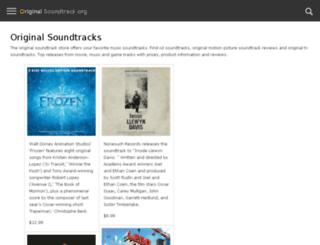 original-soundtrack.org screenshot