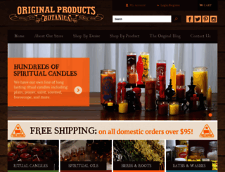 originalbotanica.com screenshot