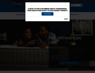 originalmattress.com screenshot