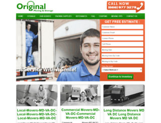 originalmoving.com screenshot