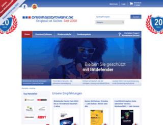originalsoftware.de screenshot