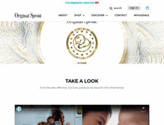 originalsprout.com screenshot