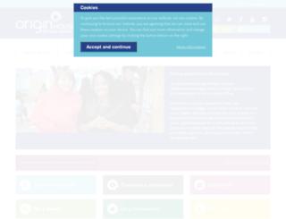 originhousing.org.uk screenshot