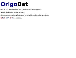 origobet.com screenshot