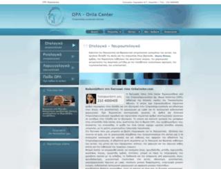 orilacenter.com screenshot
