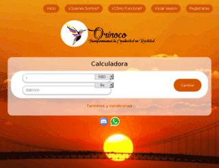 orinococambio.com screenshot