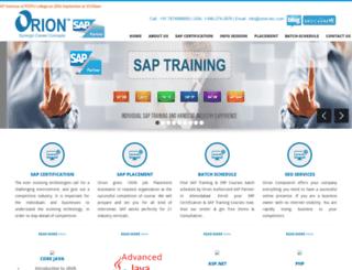 orion-tec.com screenshot