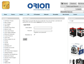 orionelectronics.co screenshot