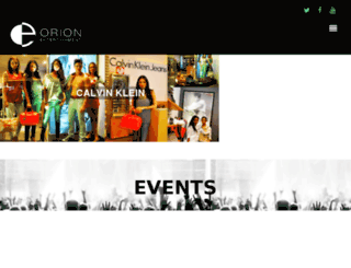 orionentertainment.in screenshot