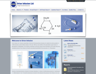 orioninfusion.com screenshot