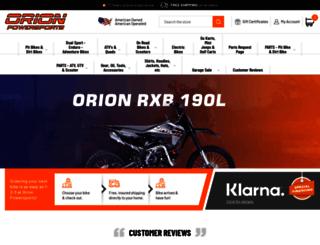 orionpowersports.com screenshot