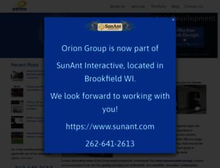 orionweb.net screenshot