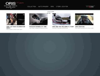 oris110.com screenshot
