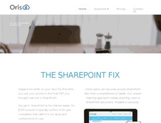 oris4.com screenshot