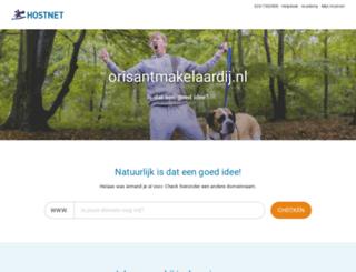 orisantmakelaardij.nl screenshot