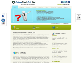 orissadoot.com screenshot