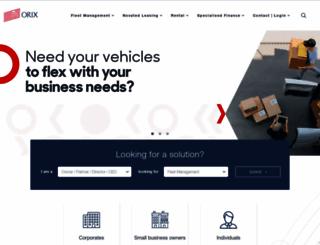 orix.com.au screenshot