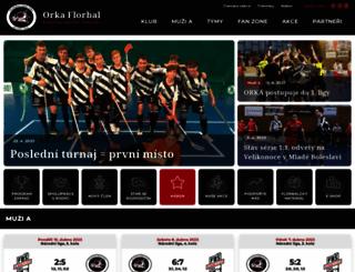 orka.cz screenshot
